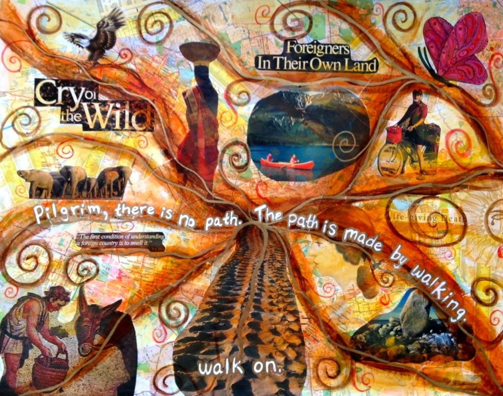 My lack-of-vision board - Heather Plett
