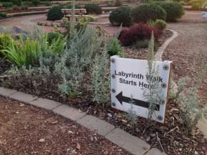 labyrinth starts here