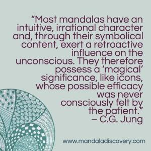 mandala - jung quote