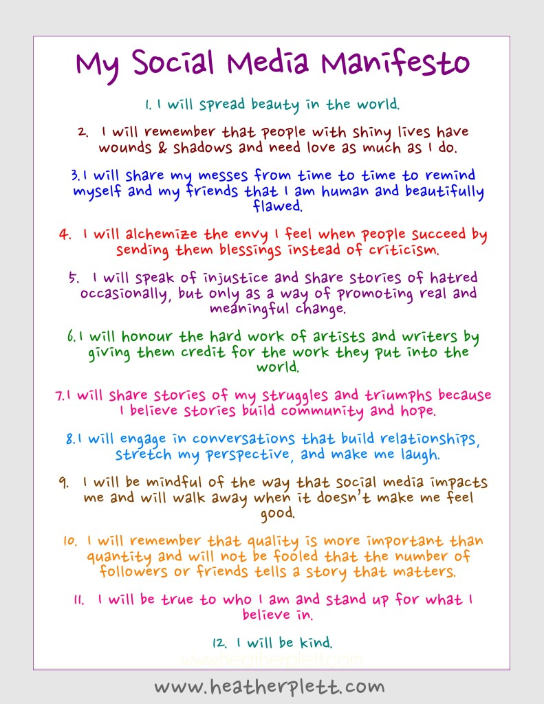 how to write an art manifesto