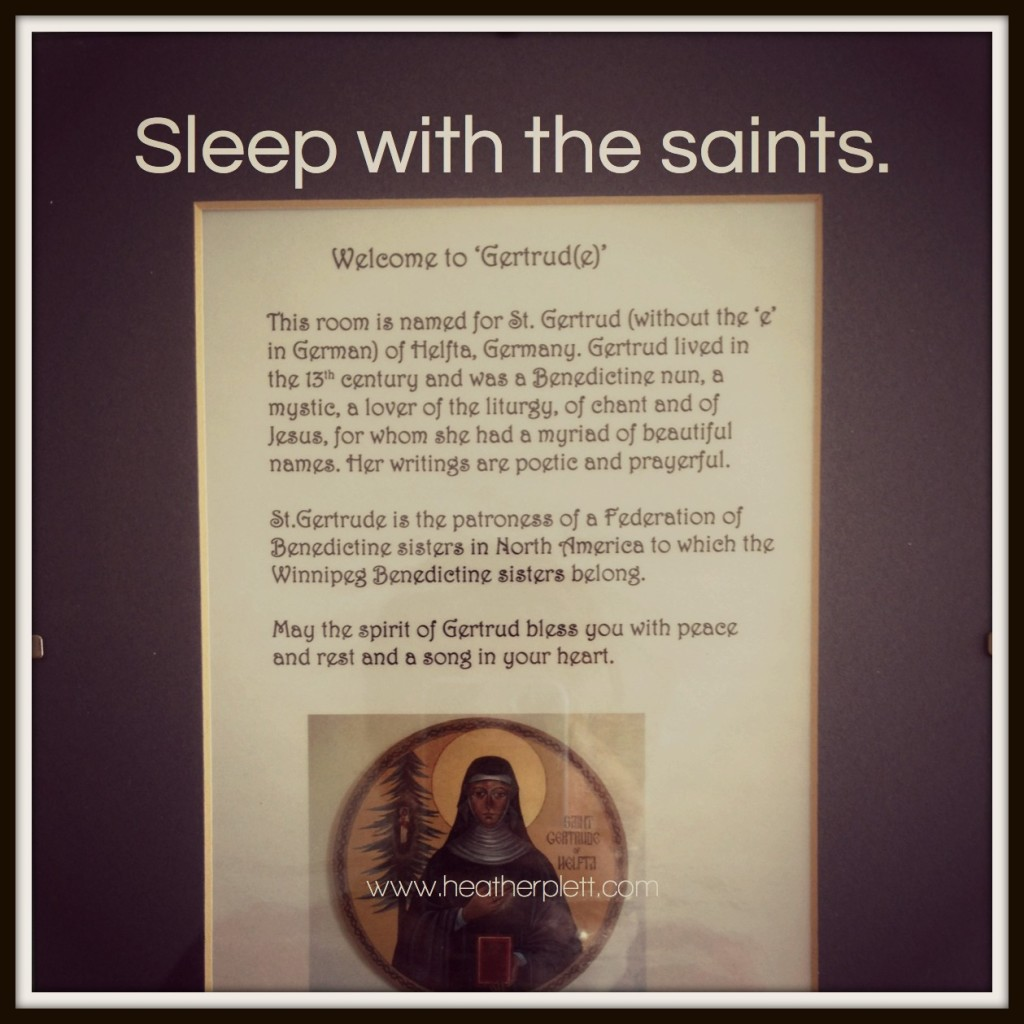9. retreat - saints