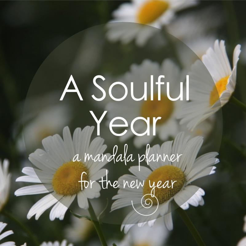 A Soulful Year - Mandala Planner