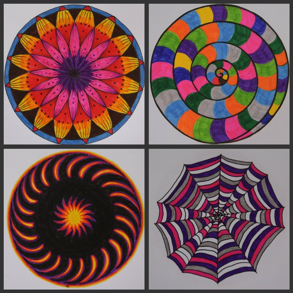 Mandala collage - Heather Plett