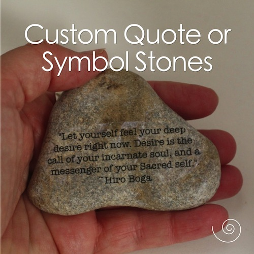 story stone quote
