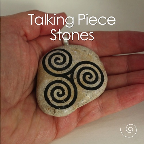 story stone talking piece