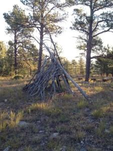 teepee Black Hills