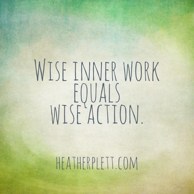 wise inner work