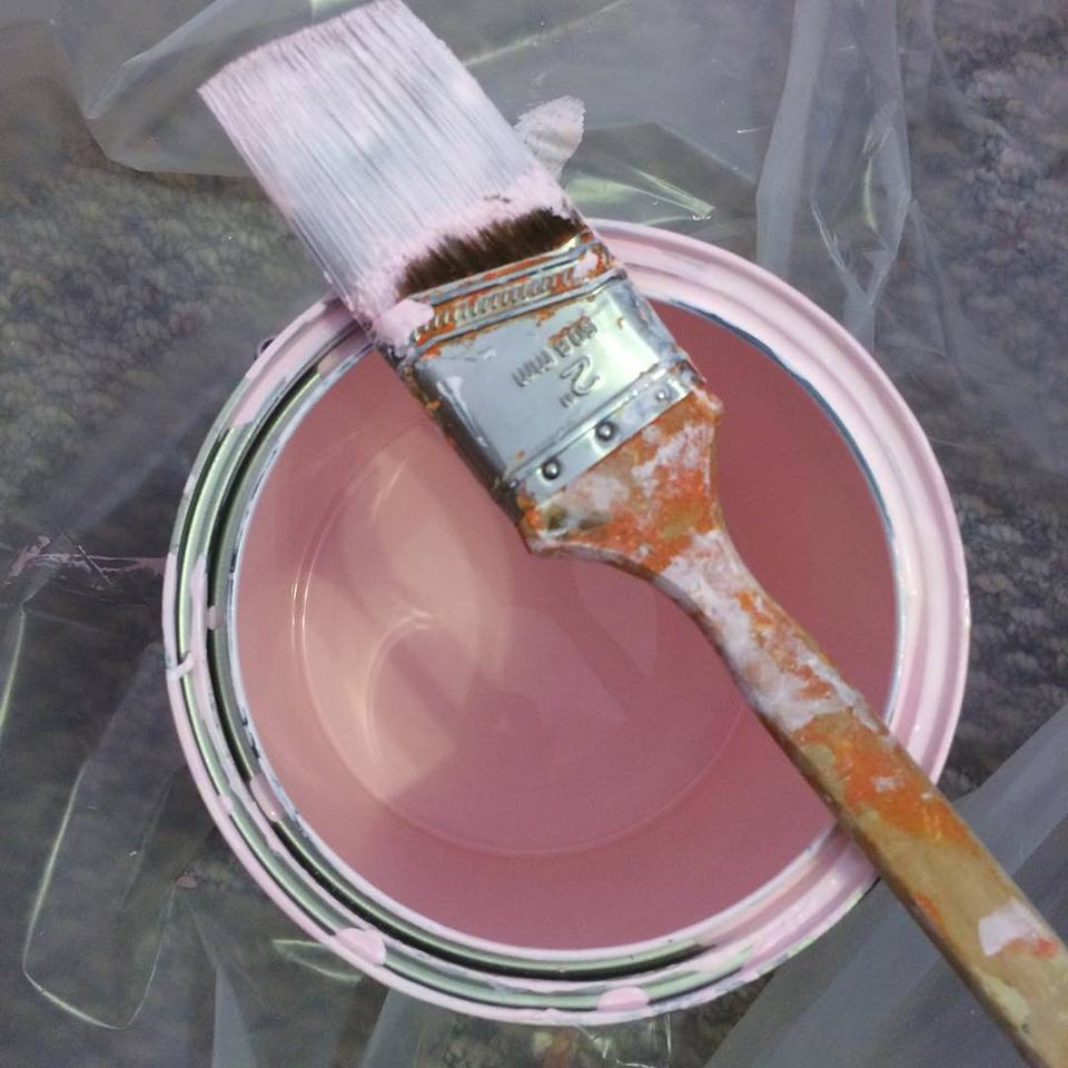 painting - Maddy's pink