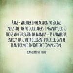 Turning rage into compassion