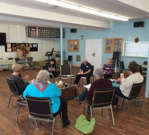 writing circle comox