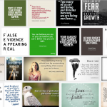 Four kinds of fear (what the self-help books might be missing)