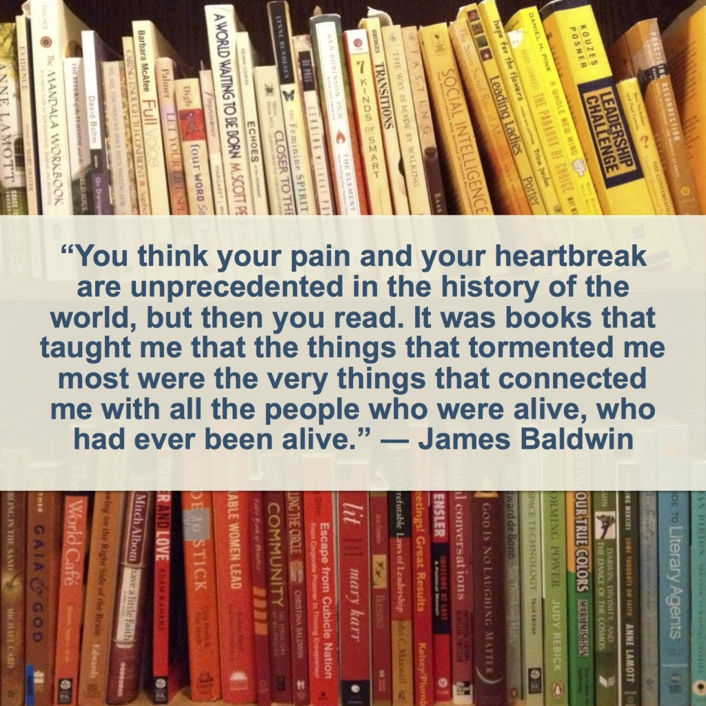 books - James Baldwin quote